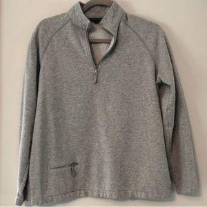 Lands End | 1/2 Zipper Pullover Pocket | M (10-12)